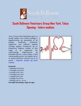 South Bellmore Veterinary Group New York, Tokyo Opening - Intern medicin