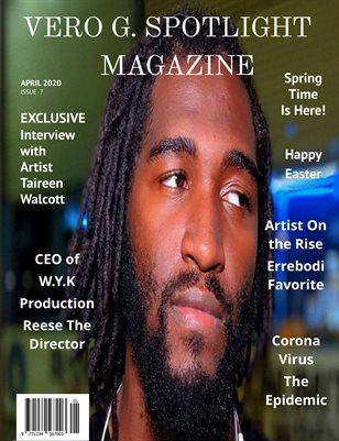 Vero G. Spotlight Magazine April issue