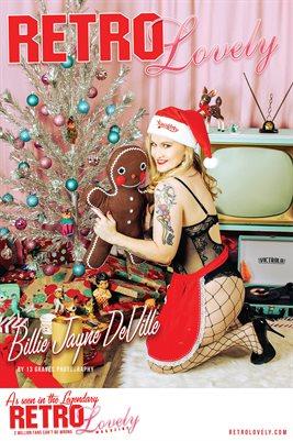 Holidays 2020 Volume No.11 – Billie Jayne DeVille Cover Poster