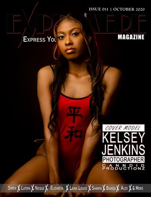 Exprimere Magazine Issue 011 Ft Kelsey Jenkins