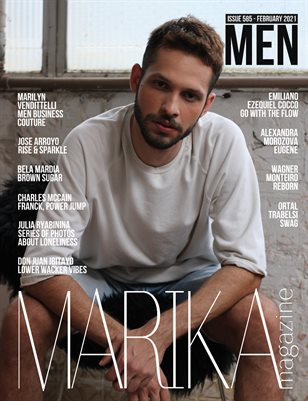 MARIKA MAGAZINE MEN (ISSUE 585 - February)