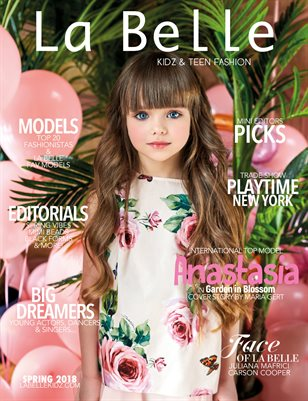 La Belle Kidz & Teen Fashion / Spring 2018 ( Moscow Cover )