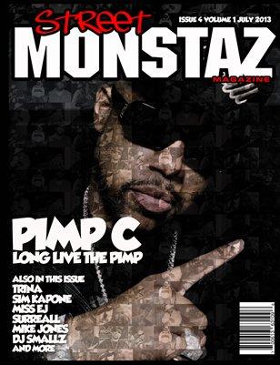 "Street Monstaz Magazine - PIMP C ""UGK RECORDS IN  TRILLNESS WE TRUST"""