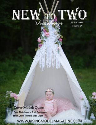 New To Two Model Magazine Issue #27