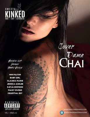 Sweet and Kinked Magazine Vol #1 Issue #3 ft. Cover Dame Chai