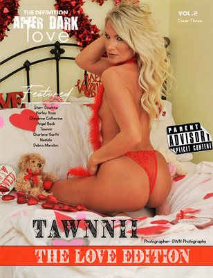 TDM After Dark: Tawnnii Valentine Issue 2 cover 3 2021
