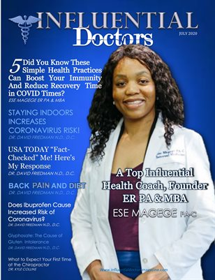 Influential Doctors Magazine July 2020