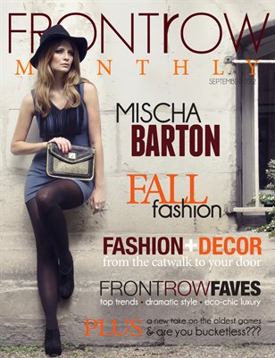 Front Row Monthly | September 2012