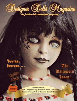 Designer Dolls Magazine - Halloween Issue 2014