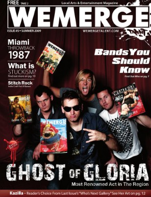 WeMerge Magazine Issue 5 - Ghost of Gloria