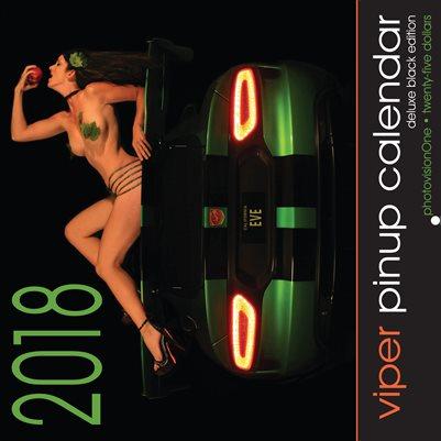 2018 Viper Pinup Calendar - Black Edition (DELUXE)