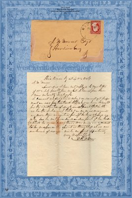 1856 WILSON TO J.B. BRUNER ESQ.