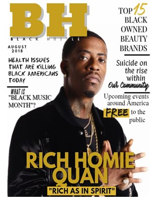 Black Hustle Magazine Issue #1