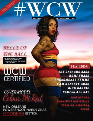 WCW Magazine Belle of The Ball Edition