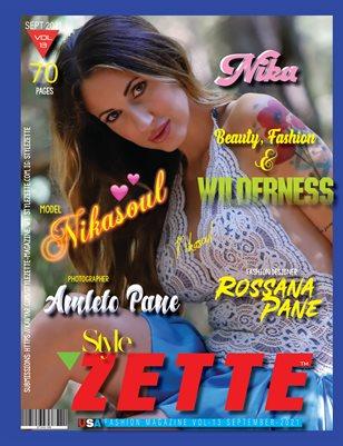 STYLEZETTE VOL-13 SEPT 2021 Issue