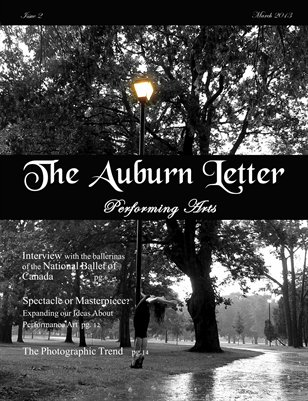 The Auburn Letter: Performing Arts