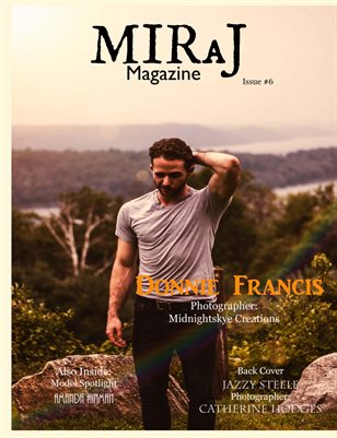 Miraj Magazine- Issue #6- Golden Hours- Donnie Cover