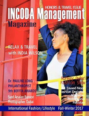 INCODA Management Magazine, Honors & Travel Issue 2018