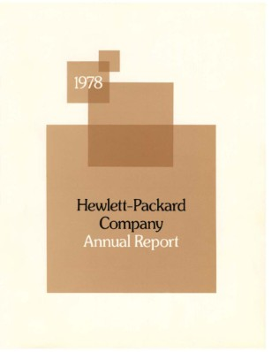 HP Annual Report 1978
