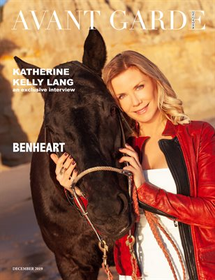 Avant Garde Magazine Special Designer Edition | Katherine Kelly Lang | Benheart