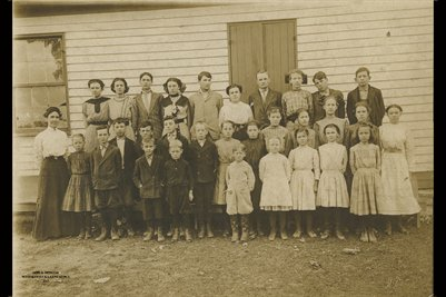 Davenport Estate School Photograph, Mercer County, Kentucky