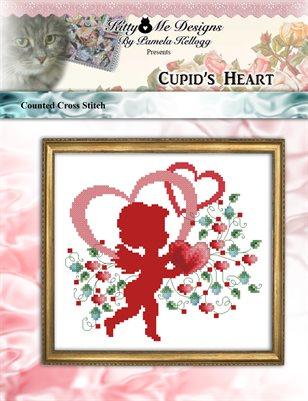 Cupids Heart Cross Stitch Pattern
