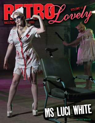 Halloween 2020 - VOL 27 – Ms Luci White Cover