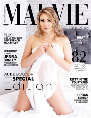 MALVIE Mag | NUDE & Boudoir Vol. 02 | August 2020