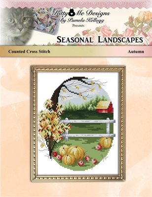 Cross Stitch Season Landscapes Autumn