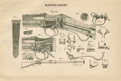 1877 MARTINI-HENRY RIFLE