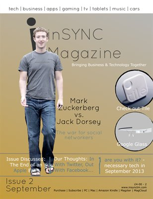 inSYNC Magazine, Issue Two - September 2013