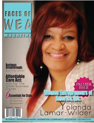 Oct 2013- Faces of WEA Magazine