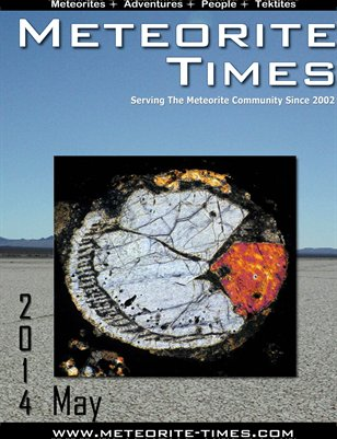 Meteorite Times Magazine - May 2014 Issue