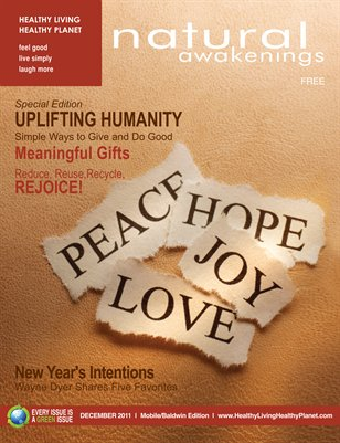 December 2011: Uplifting Humanity