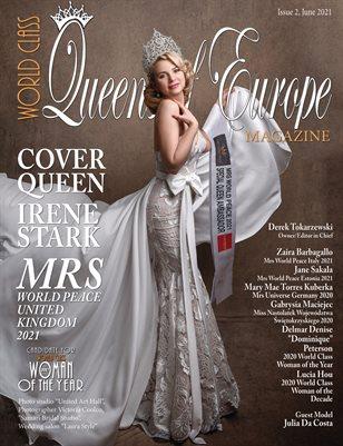 World Class Queens of Europe Magazine, Issue 2, Irene Stark