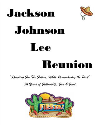 Jackson Johnson Lee Family Reunion 2016 Volume 1