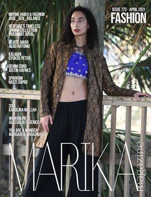 MARIKA MAGAZINE FASHION (ISSUE 773 - APRIL)