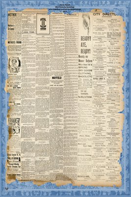 PAGES 3-4 April 20, 1898 Mayfield Monitor Newspaper