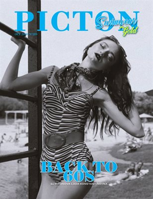 Picton Magazine OCTOBER  2019 N289 SWIMWEAR GOLD Cover 1