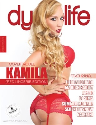 Dymelife Magazine #15 Red.Lingerie.Edition (Kamila Dona)