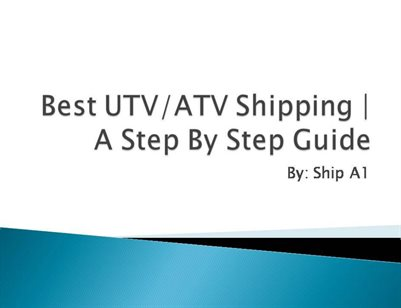 ATV-UTV shipping by shipa1