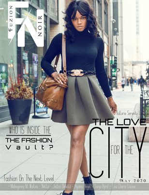 Fuzion Noir Vallorie Serenity Love Spring May 2020 Issue 1 Cover 1