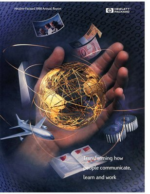 HP Annual Report 1998