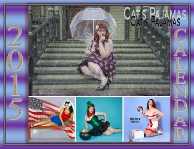 Cat's Pajamas 2015 Calendar