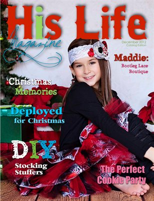 His Life Magazine Christmas 2012 Issue/Catalog