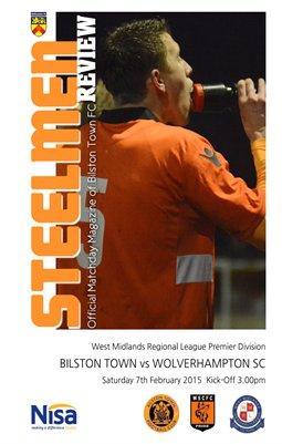 Bilston Town v Wolverhampton Sporting Community 7/2/15