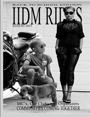 IIDM RIDES Magazine - August 2015 Issue