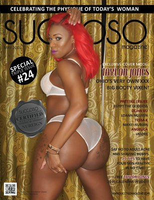 Succoso Magazine Triple Issue #24 featuring Cover Model Taylor Jones