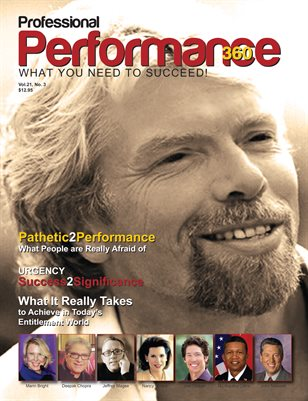 Sir Richard Branson Edition - PERFORMANCE/P360 Magazine - Vol. 21, No.3