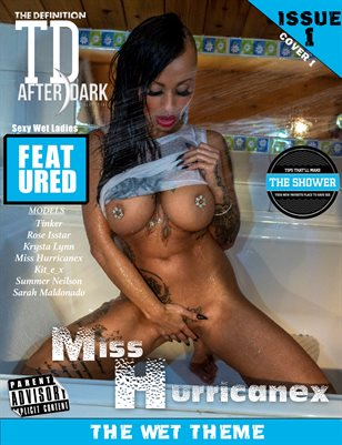 TDM Miss Hurricanex wet after dark vol.1 cover 1